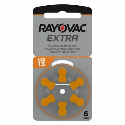 Rayovac Extra Mercury Free Hearing Aid Batteries Size 13 - LOW PRICE