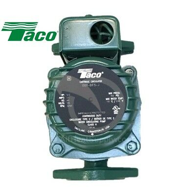 Taco 009 BF5-J Pump Outdoor Wood Boiler Furnace Better then 009-F5 & same HBF5-J