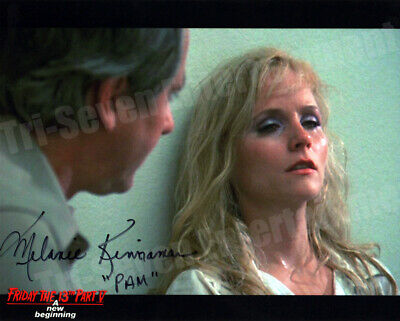 Melanie Kinnaman Hand Signed 8x10 Photo Friday the 13th Part 5: A New Beginning