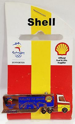 Shell Fuelling The Games Truck Sydney Olympic Games 2000 Pin Collect #657