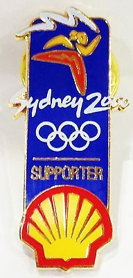 Shell Supporter Sydney Olympic Games 2000 Pin Collect #659