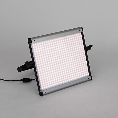 Portable Slim LED-500S Bi-COLOR Dimmable Studio Video Photography Light Panel