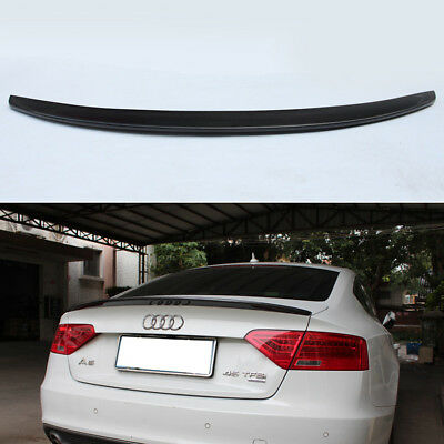 Carbon Fiber Trunk Spoiler Wing for Audi A5 Sportback 4Door 2009-2016 S5 Style