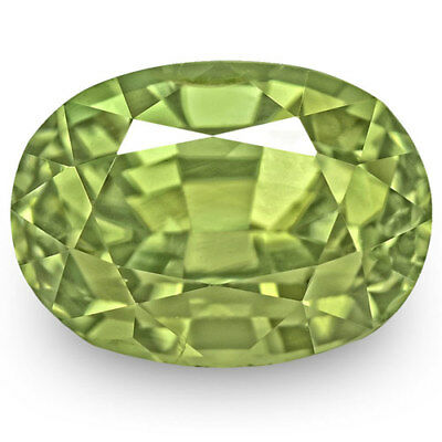 2.56-Carat Beautiful Lively Green Alexandrite from Madagascar (GIA-Certified)