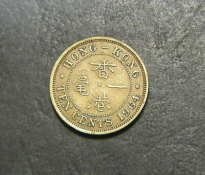 1964 Hong Kong ten cent