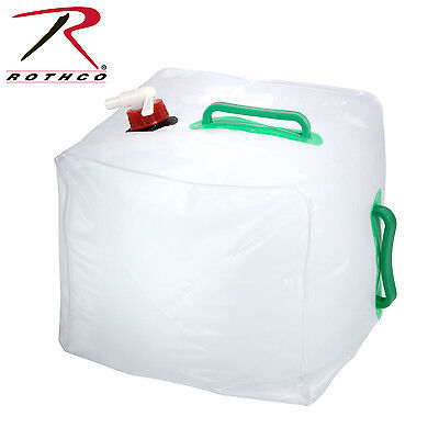 Five Gallon Collapsible Water Jug w/ Spigot 5 Gallon Water Carrier Rothco 535