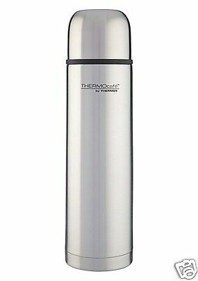 Thermos ThermoCafe Stainless Steel Vacuum Insulated Flask ~ 350ml 500ml 1lt