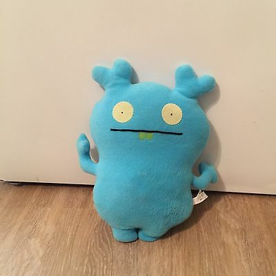 "Ugly Doll 12"" Plush Toy Blue And Softy"