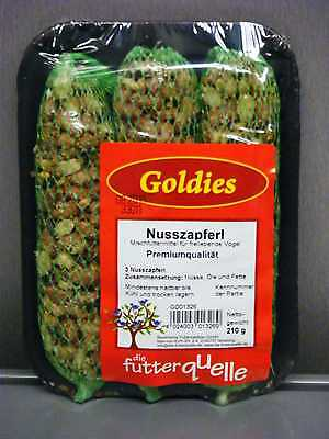 Goldies Nußzapferl, 3 Stk.