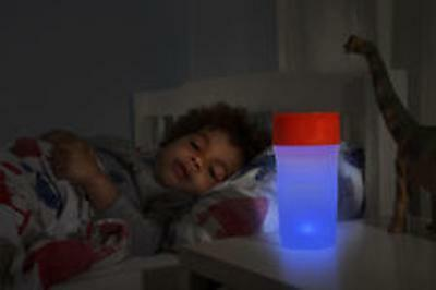 Lite Cup - Toddler Sipp Cup With Night Light. -9 Great Colour Choices!