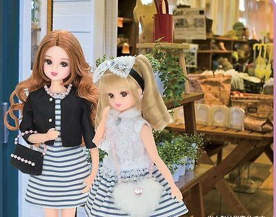 Licca Chan & Mom and matching dress set  for Shopping    Takara Tomy OUTFITS