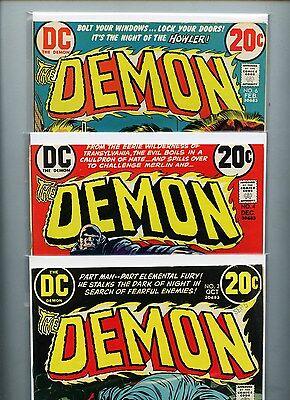 The Demon #2, #4, and #6 -- Lot of 3 Comics -- Free Shipping in USA!