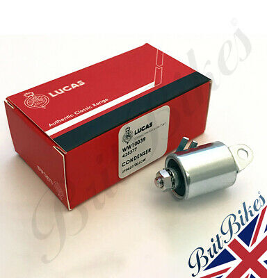 Genuine Lucas Condenser - Fits Lucas 18D2 Distributor & 4CA contact 425377