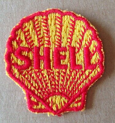 Vintage Shell Oil Heavily Embroidered Patch