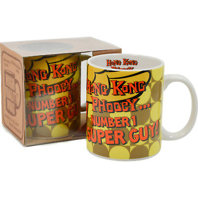 Hong Kong Phooey Mug - Number One Super Guy 70's Dad's Cup Office Kitchen Home