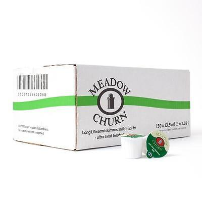 Meadow Churn Long Life Semi-Skimmed UHT Milk Pots