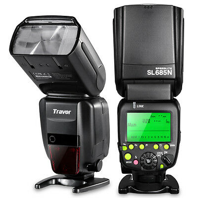 Travor i-TTL Master/Slave Flash Full Kit f/ Nikon D80 D90 D800 D700 D7100 D3100