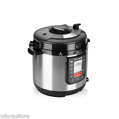 Rank Arena 6L Automatic Electric Pressure & Multi-Function Food Cooker