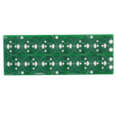 100F 220F 350F 500F 2.7V Supercapacitor Balance Protection Board 12 in series