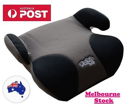 Brand New High Quality Grey Car Booster Seat (Melbourne Stock)