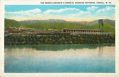 A View of the Homer Laughlin & Edwin M. Knowles Potteries, Newell WV