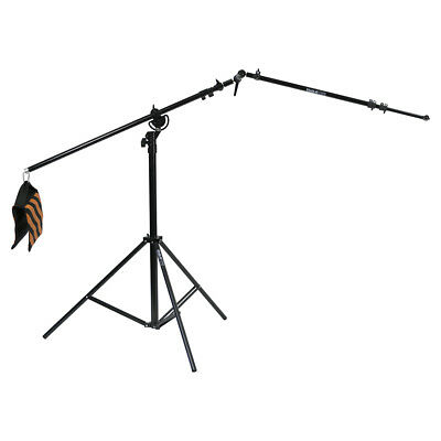 PhotR 4m Heavy Duty Combi Boom Stand Collapsible Reflector Holder Arm Ball Joint
