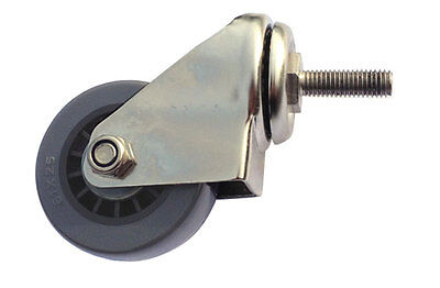 """60mm Castor Wheel for 20"""" and 22"""" Surface Cleaners - Whirlaway Compatible"""