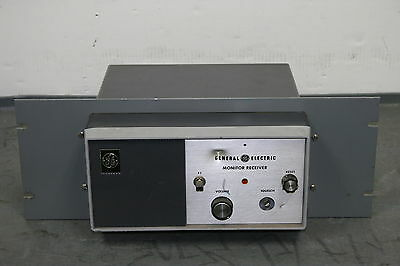 "GE General Electric ER-52-A Monitor Receiver ""Make an Offer"