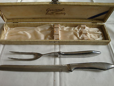 Vintage  Carving Set, Made in the Japan knife set