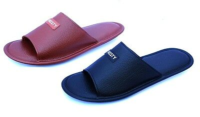 WHOLESALE LOT 36 Pairs Unisex IN/Outdoor PU House Slipper Comfort Clearanc-3023