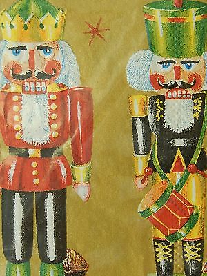 Nutcracker Christmas Mesafina Paper Guest Towels Napkins New Pack of 16 Germany