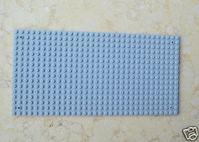 3pcs Compatible for Lego Gray Base Plate display Brick figure building 16x32 Dot