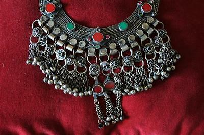 Old Afghanistan Kuchi Pashtun Horse Shoe Necklace… beautiful collector's piece..
