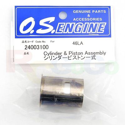 CYLINDER & PISTON ASSEMBLY 46LA # OS24003100 **O.S. Engines Genuine Parts**