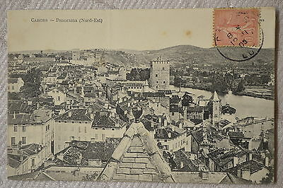 """CPA """" CAHORS - Panorama (Nord-Est)"""