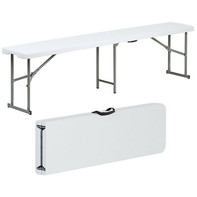 Hartleys 6FT Lightweight Portable Folding Bench 1.8m/Picnic/Seat/Garden/Camping