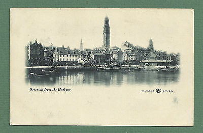 1905 Pc Greenock From The Harbour - Paddlesteamer, Quayside Etc
