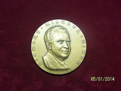 1969 Richard Milhous Nixon 37th President of America Inauguration Medal Coin