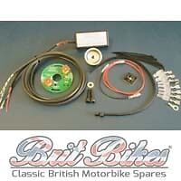 PAZON SURE-FIRE Single Cyl 6V Triumph BSA Motorcycles Electronic Ignition Kit