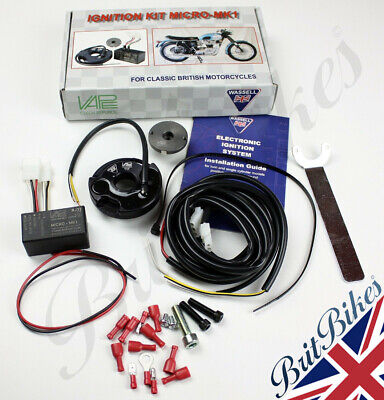ELECTRONIC IGNITION SYSTEM WASSELL MICRO-MK1 Twin & Single Cylinder Unit Models