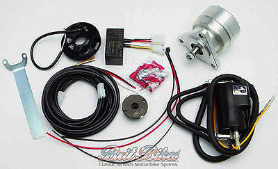 BSA TRIUMPH NORTON MOTORBIKE Magneto Replacement Kit 12V K1F K2F Ignition System