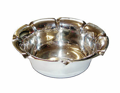 Antique Fully Hallmarked Sterling Silver Scollaped Edged Bon Bon Dish (1905)