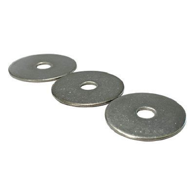 M3 M4 M5 M6 M8 M10 M12 A2 Stainless Steel Mudguard Washer Penny Repair Washers