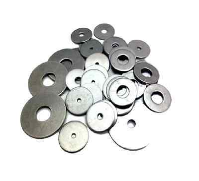 M3 A2 STAINLESS STEEL MUDGUARD WASHER PENNY REPAIR WASHERS M3 x 9mm
