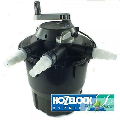 Hozelock Bioforce Revolution 28000 with UVC Pressure filter
