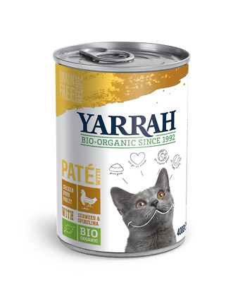 Yarrah Chicken Pate With Spirulina & Seaweed 400g