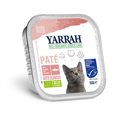 Yarrah Pate With Msc Salmon & Seaweed 100g (Pack of 16)
