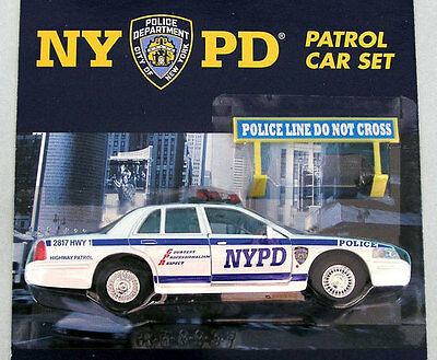 New York Police Department 1:43 NYPD Modellauto NYC Patrol Ford Crown Victoria