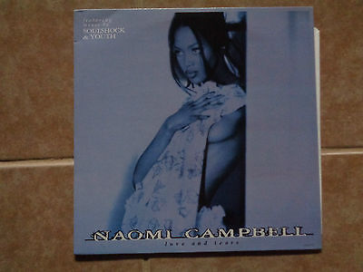 """NAOMI CAMPBELL_Love And Tears_used VINYL 12"""" inch_ships from AUS!_J4f"""