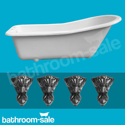 Salisbury Slipper Roll Top Bath 1520 with Traditional Cast Iron Feet RRP £599